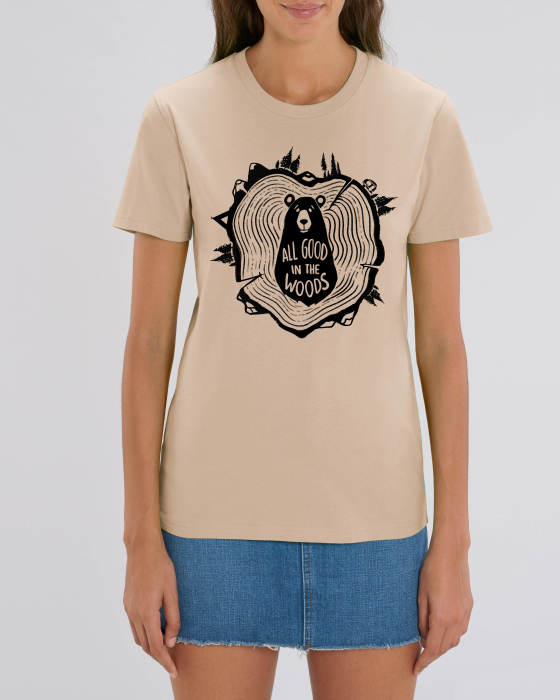 Tricou Unisex - All good in the woods 7