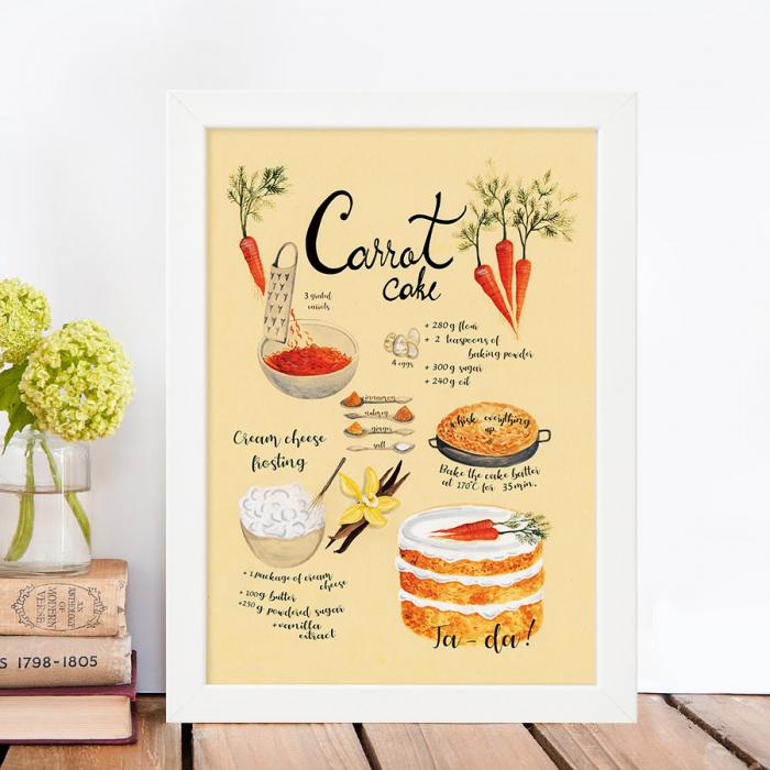 Tablou Carrot cake 0