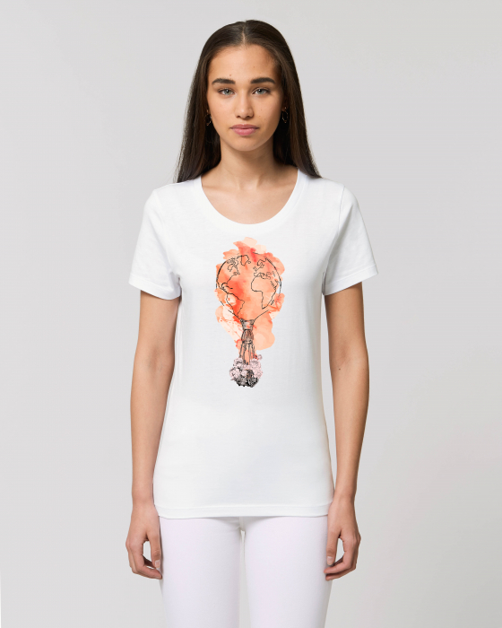 Tricou dama - Around the World 0