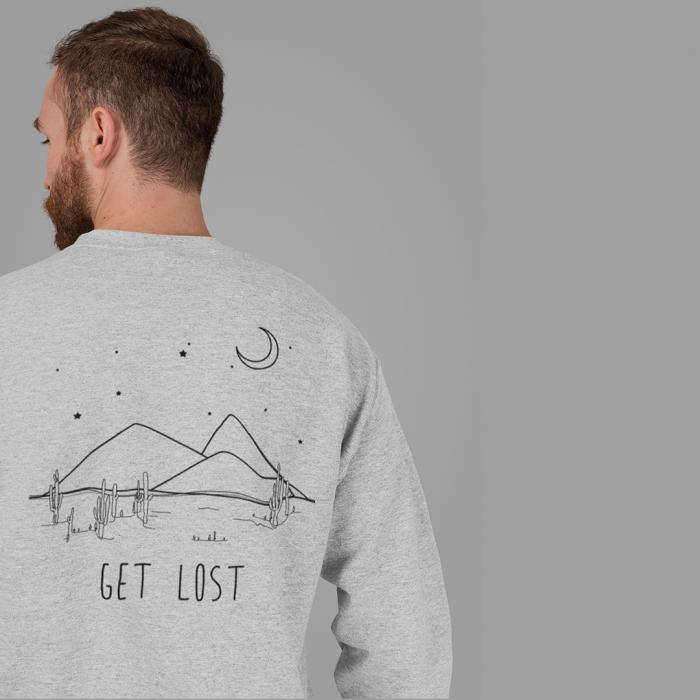 Bluza unisex Get Lost [0]