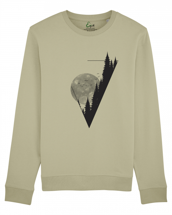 Bluza unisex Moon in the Mountains 1