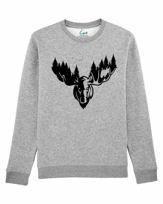 Bluza unisex The forest deer 2