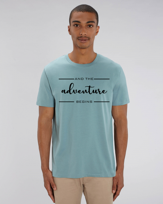 Tricou Unisex - Adventure Begins 1