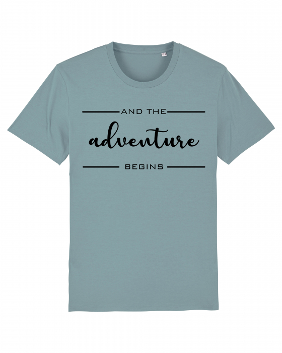 Tricou Unisex - Adventure Begins 0