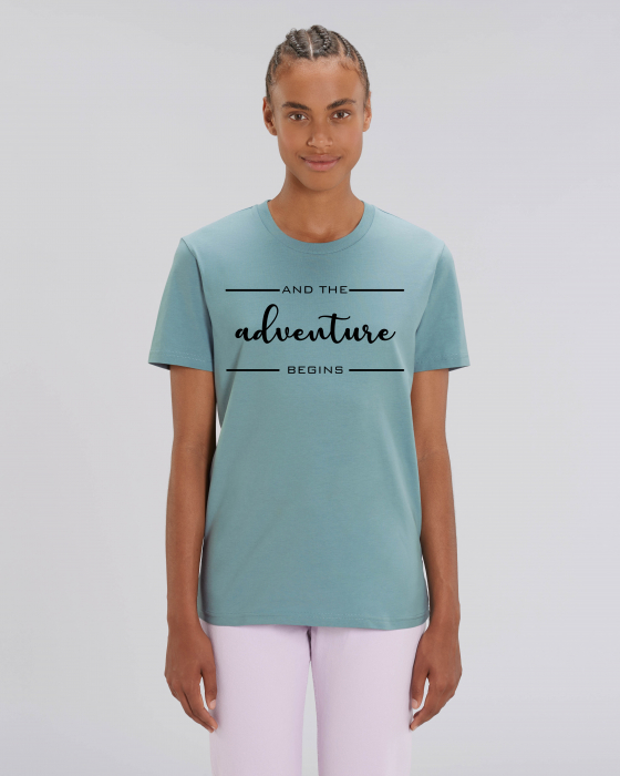 Tricou Unisex - Adventure Begins 2