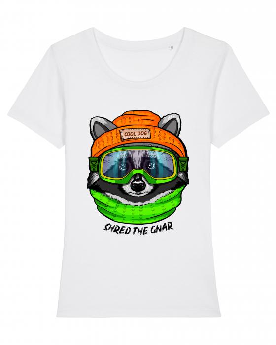 Tricou dama - Raccoon 0