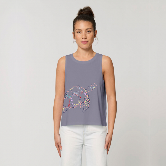 Colorful turtle - tank top [3]