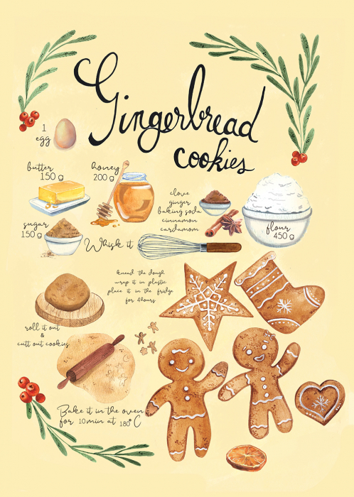Tablou Gingerbread 1
