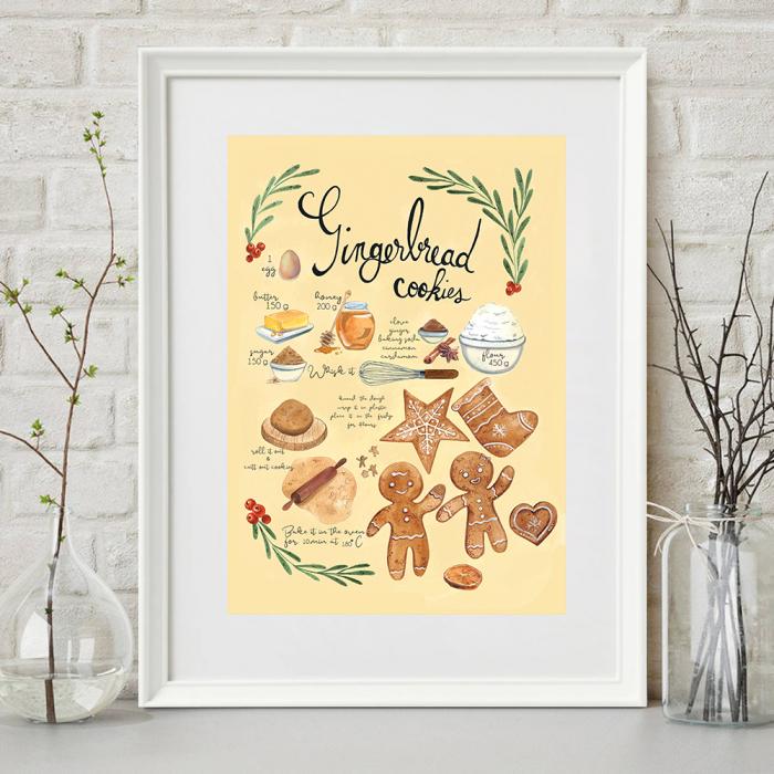Tablou Gingerbread 2
