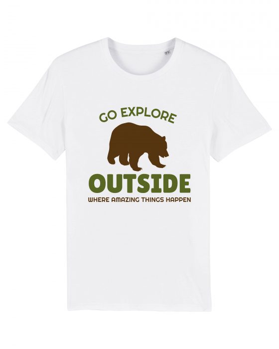 Tricou Unisex - Go outside 0