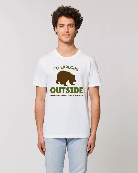 Tricou Unisex - Go outside 1