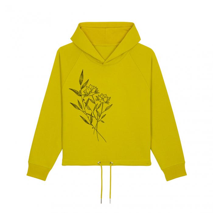Hanorac dama Flowers 0