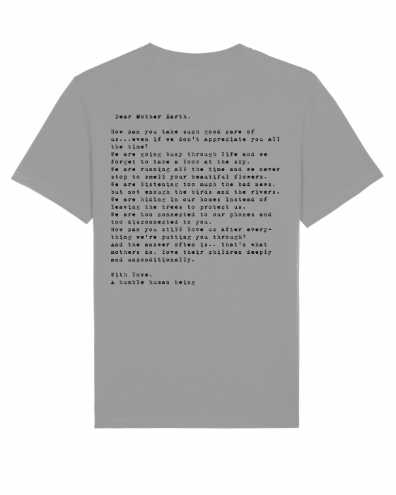 Tricou Unisex - Letter to Mother Earth 3