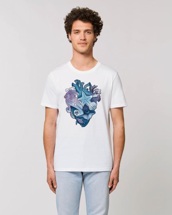 Tricou Unisex - Love purple oceans 2