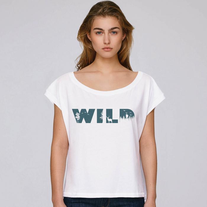 Wild - tricou dama oversized [0]
