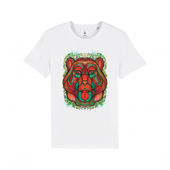 Psychedelic Bear - tricou unisex [1]