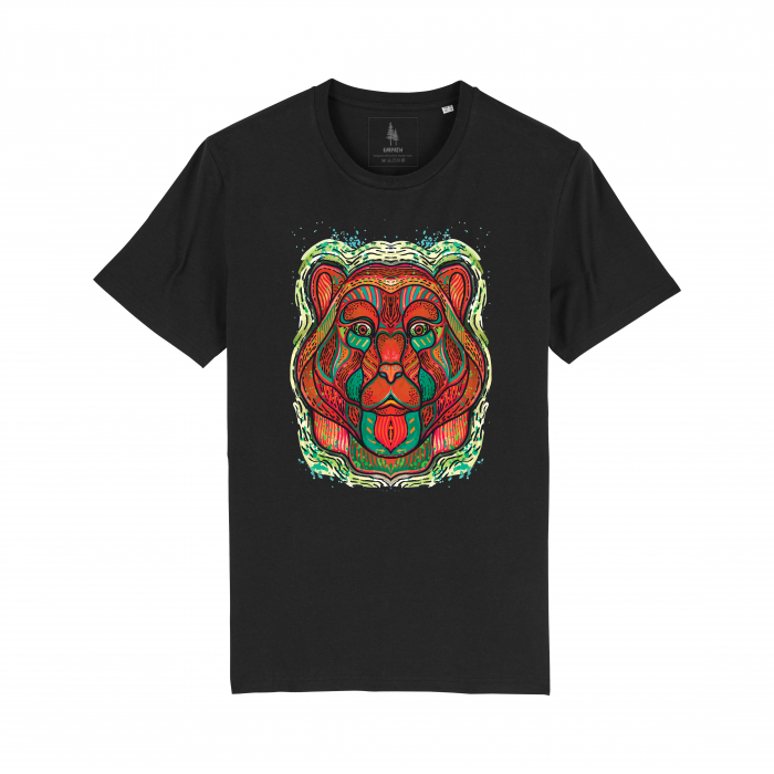 Psychedelic Bear - tricou unisex [2]