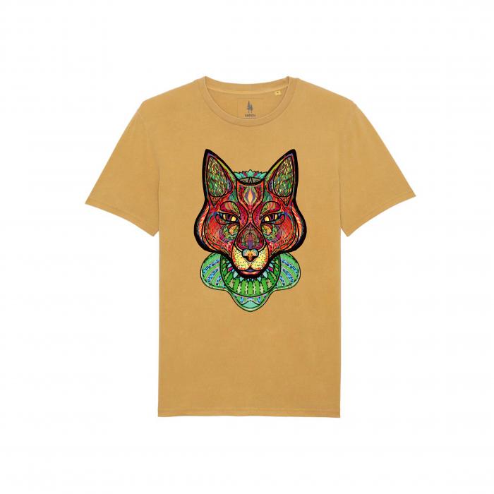 Psychedelic Fox - tricou unisex [3]