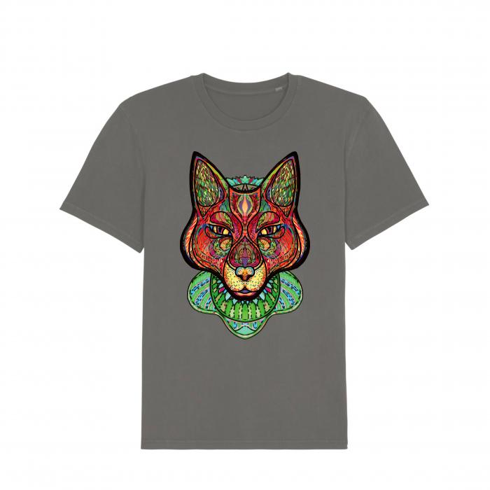 Psychedelic Fox - tricou unisex [1]