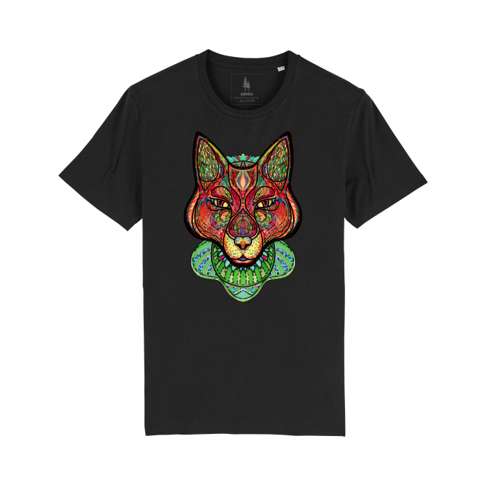 Psychedelic Fox - tricou unisex [2]