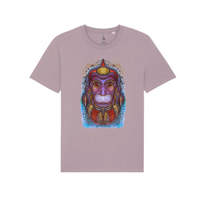 Psychedelic Monkey - tricou unisex [2]