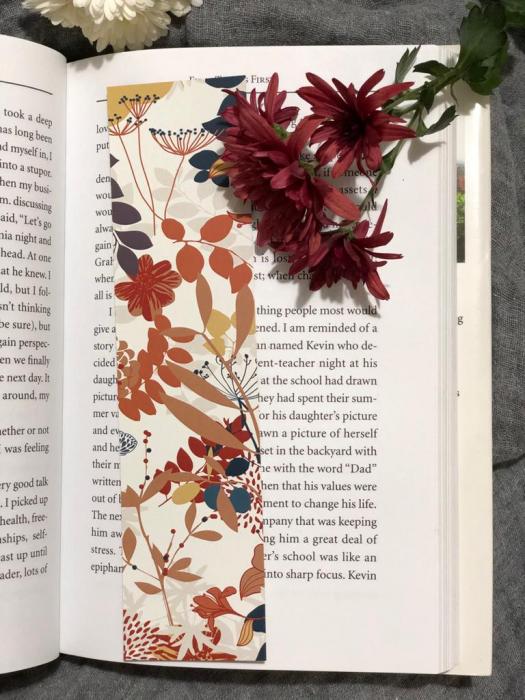 Semn de carte: Frunze de toamna 1