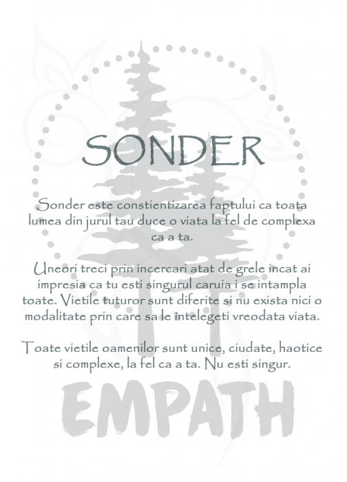 Sonder - tricou unisex [2]