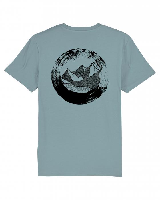 Tricou Unisex - The Circle of Mountains 8