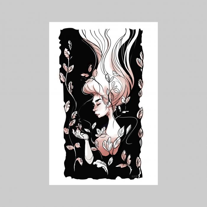 The fall - print de arta 1