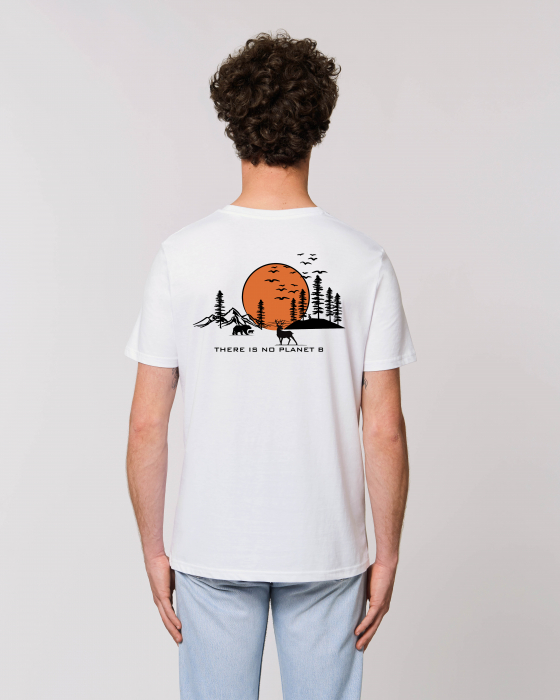 Tricou Unisex - There is no planet B 3