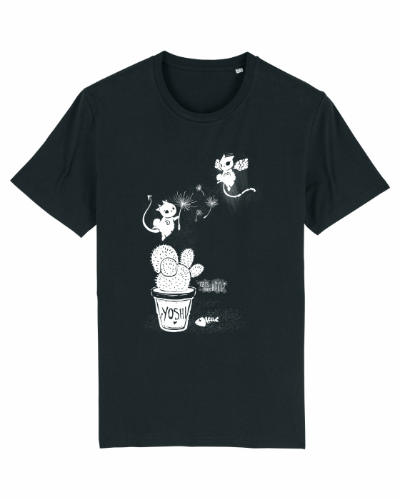 Tricou unisex Cats from Hell - 2 2
