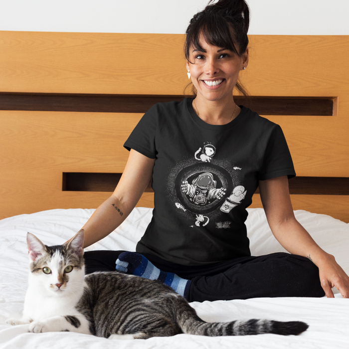 Tricou unisex Cats from Hell - 3 0