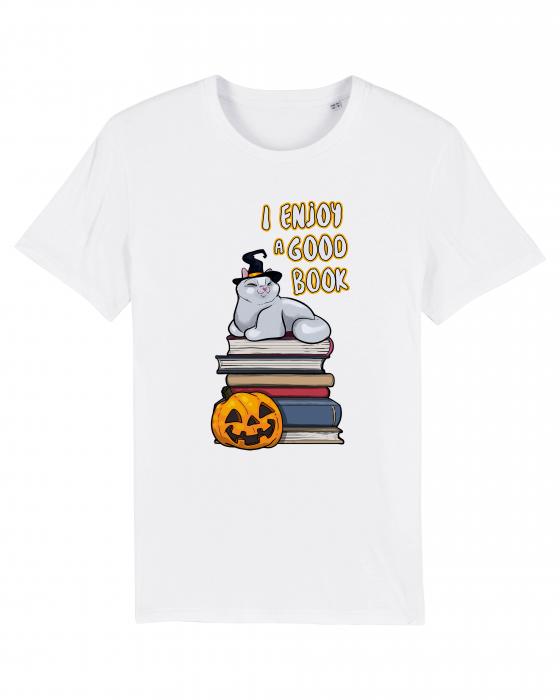 Tricou Halloween Book by Cristina Ion 1