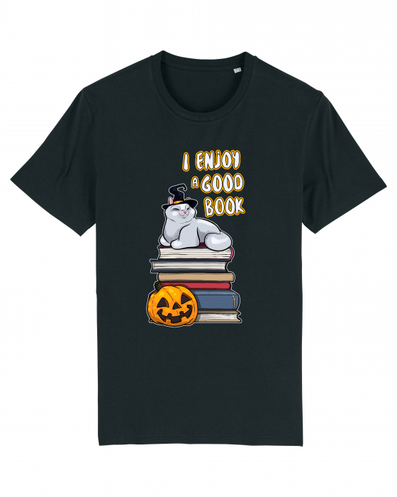 Tricou Halloween Book by Cristina Ion 0