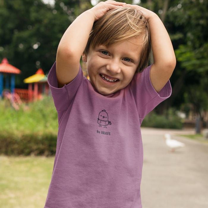 Tricou copii Be brave 7
