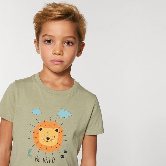 Tricou copii Be Wild [0]