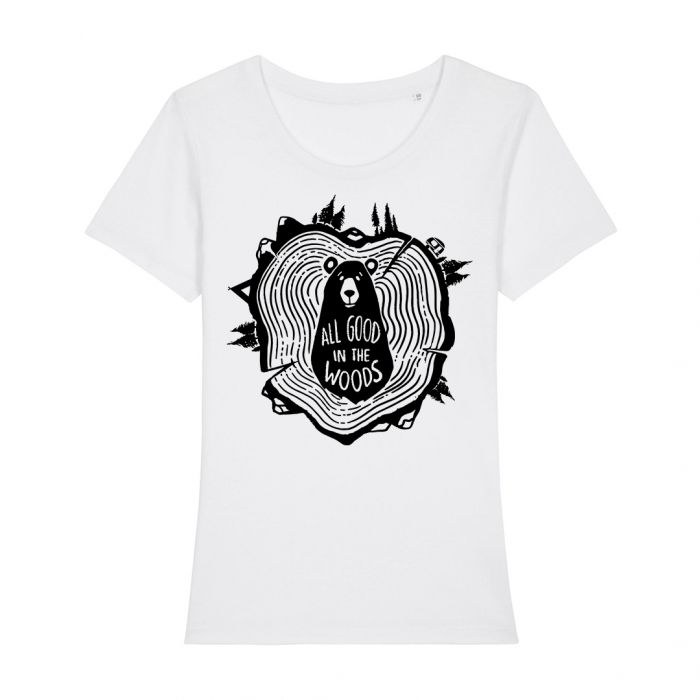 Tricou dama- All good in the woods [1]