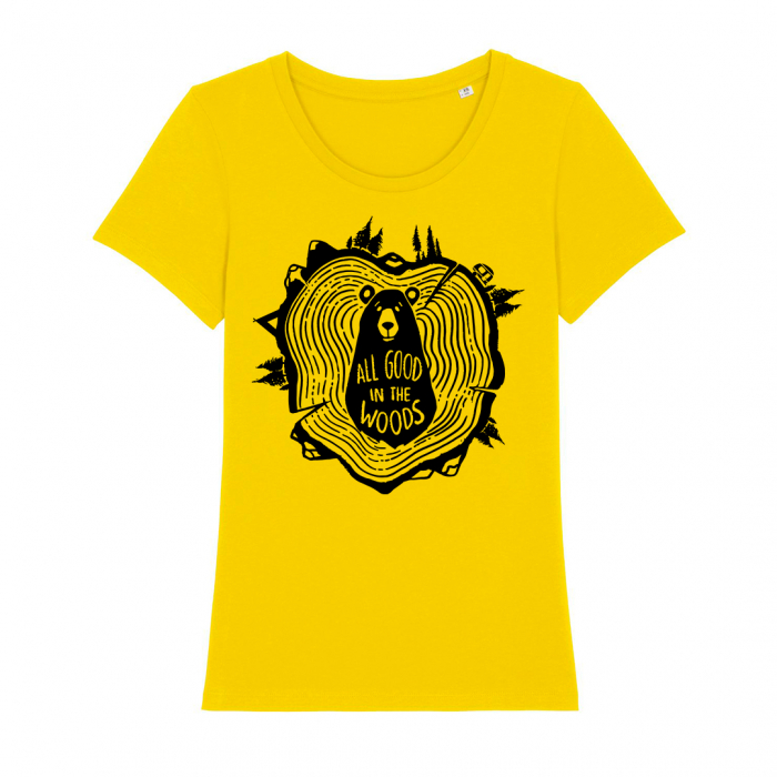 Tricou dama- All good in the woods [3]