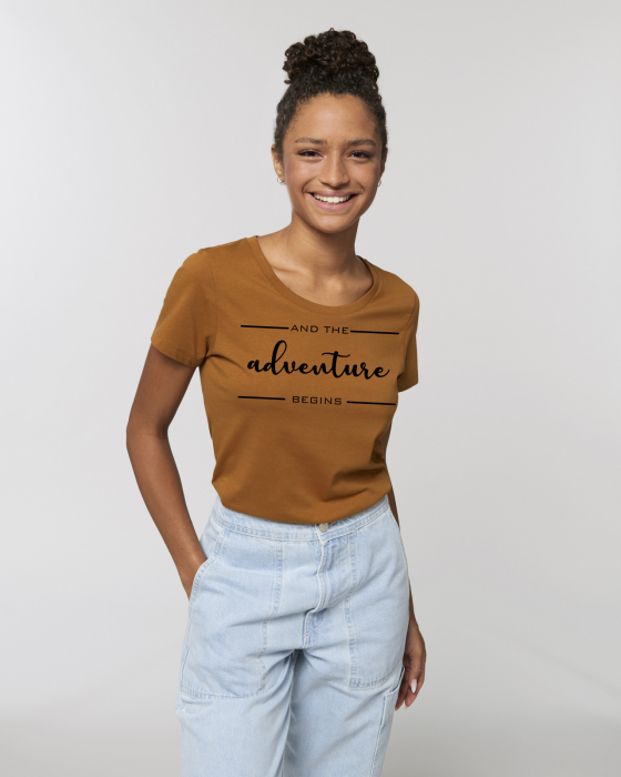 Tricou dama- And the adventure begins 0