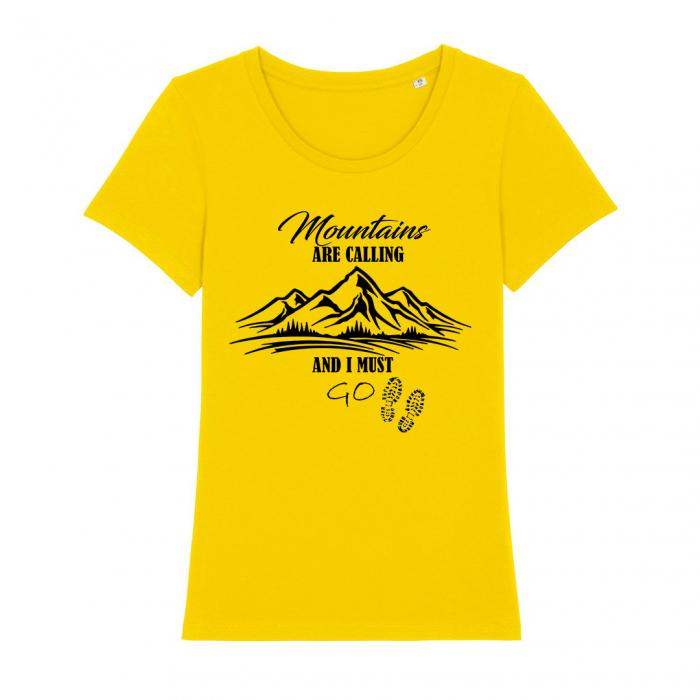Tricou dama- Mountains are calling [0]
