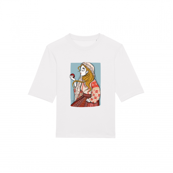 Romancuta Arges 2 - tricou dama, relaxed fit [1]