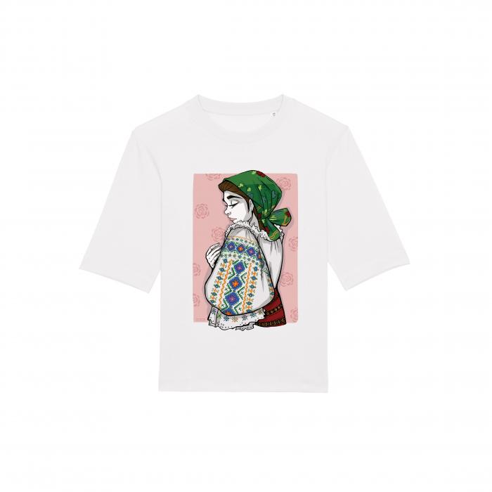 Romancuta Bistrita Mocod - tricou dama, relaxed fit [1]