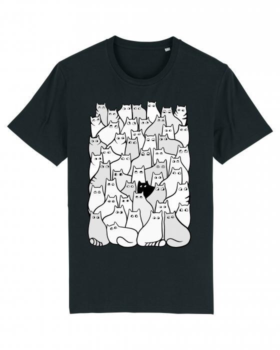 Tricou grafica Cats Pattern 1 by Cristina Ion 0