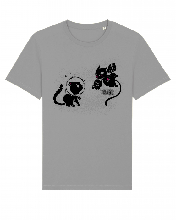 Tricou Cats from Hell - 1 by Cristina Ion 2
