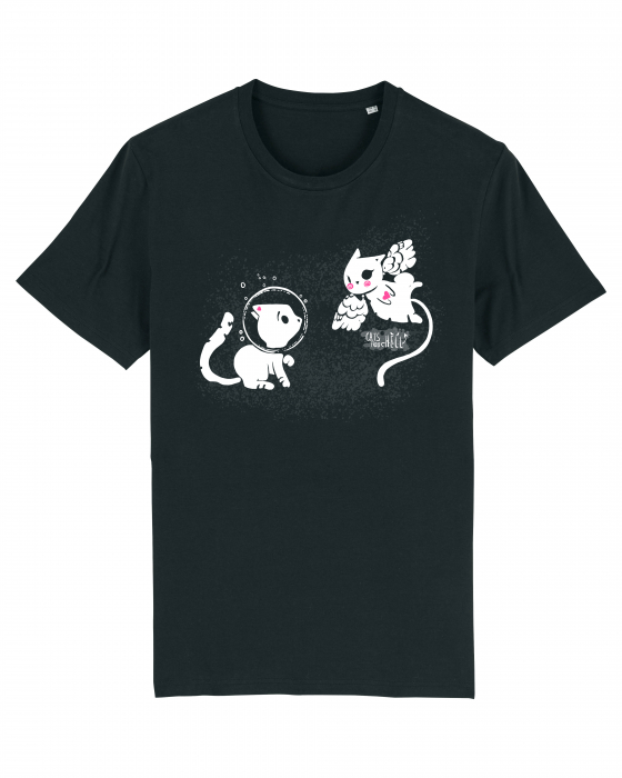 Tricou Cats from Hell - 1 by Cristina Ion 1