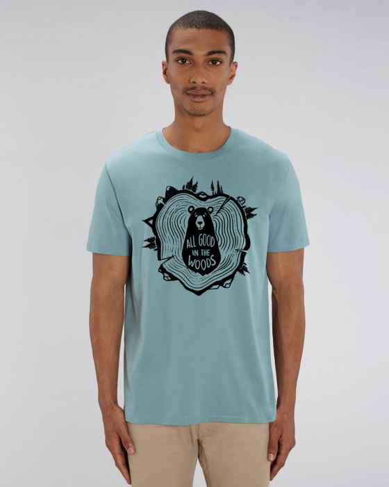 Tricou unisex - All good in the woods 6