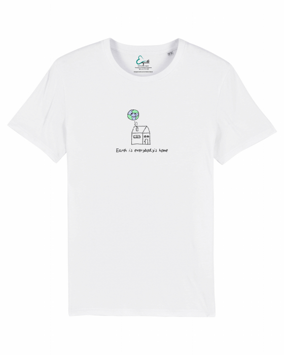 Tricou unisex - Earth is everybody's home 1