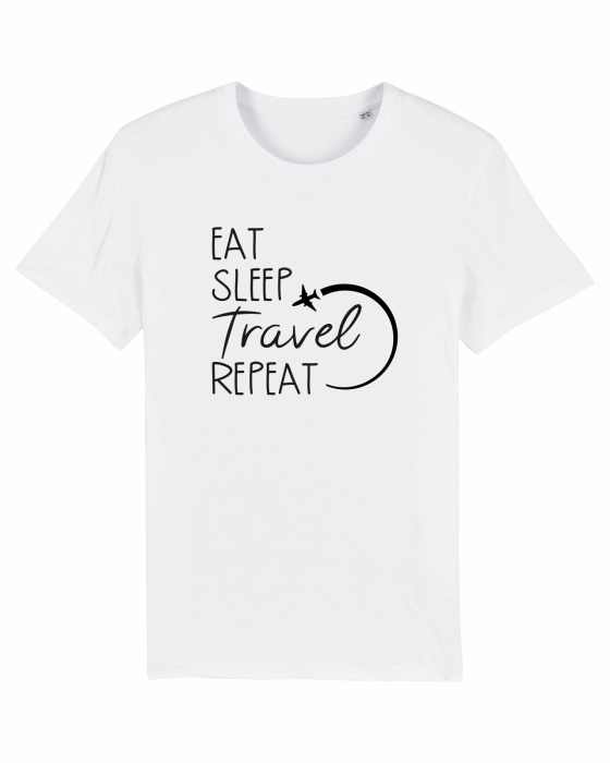 Tricou Unisex - Eat Sleep Travel REPEAT 1