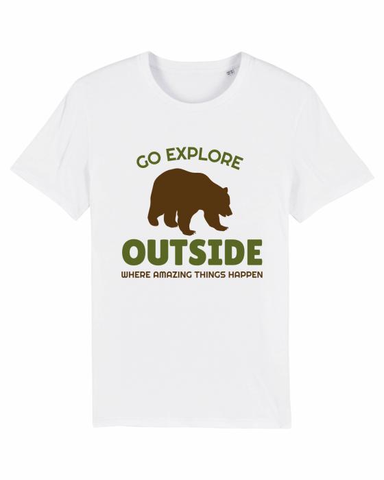 Tricou Unisex - Go outside 1
