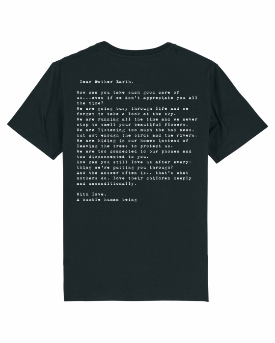 Tricou Unisex - Letter to Mother Earth 1